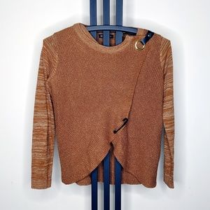 INC International Concepts Brown Sweater